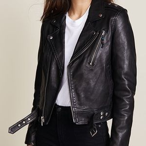 BLK DNM leather jacket 1 size XS